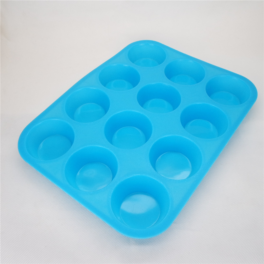 CXKP-2006a	Silicone Bakeware  - 12 Cup Muffin Pan
