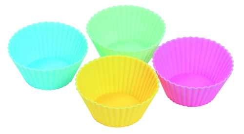CXBC-6001	Silicone Bakeware Baking Cup Round Shape 6-Piece Set