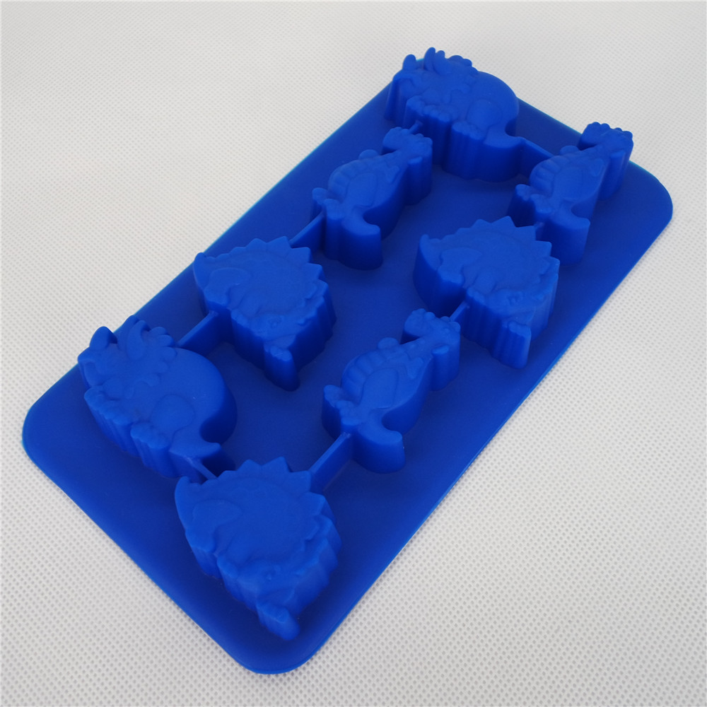 CXIT-5016	Silicone Ice tray- Dinosaur and Dhinoceros