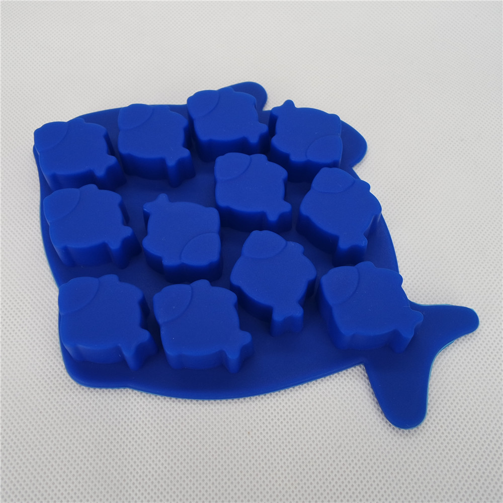 CXIT-5033	Silicone Ice tray-12 cavity Fish