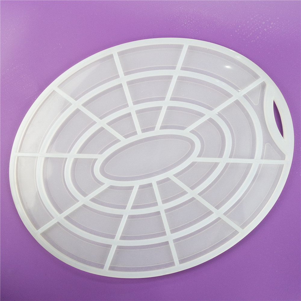 CXRD-1017 Silicone Mat Round Shape With Latticework