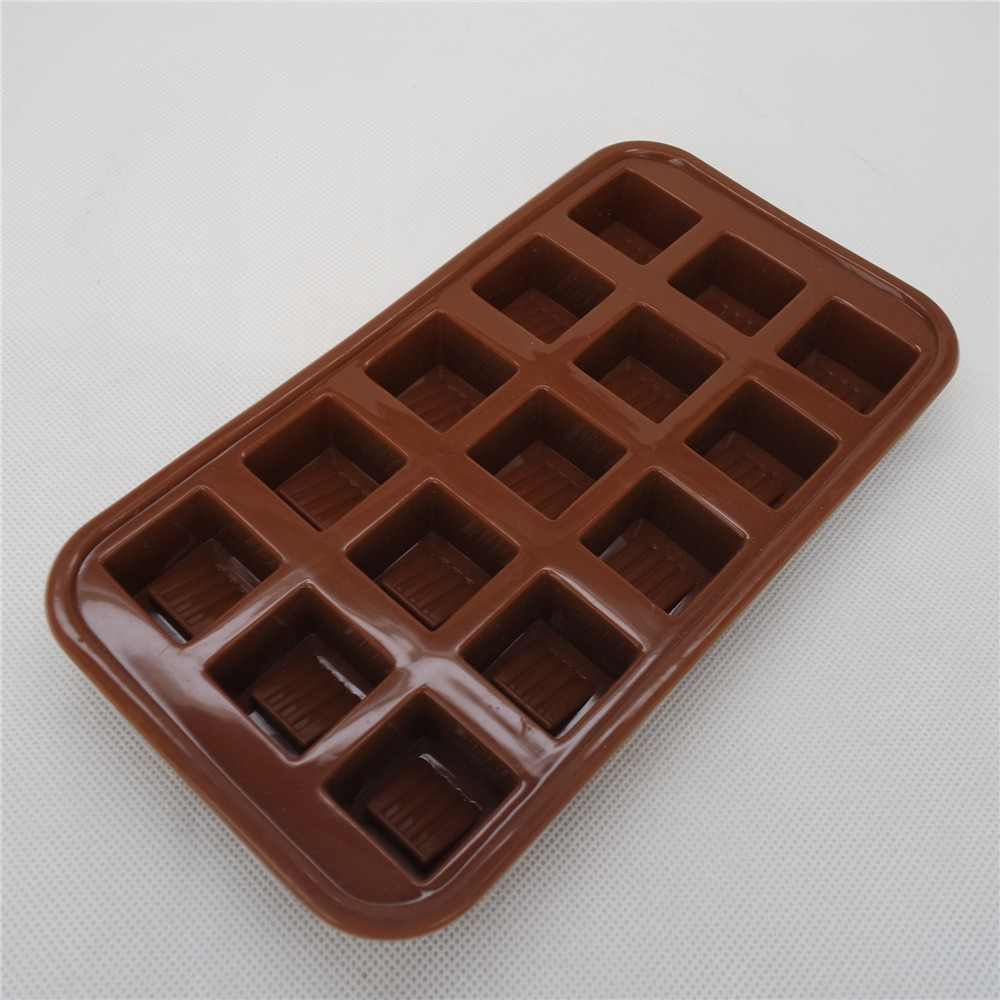 CXCH-008	Silicone chocolate mould-15 cavity square