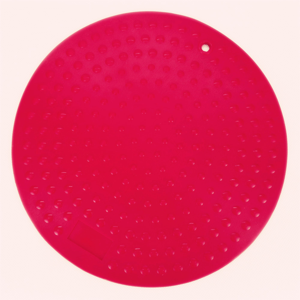 CXRD-1005 Silicone Mat Round  Shape With Dot Pattern