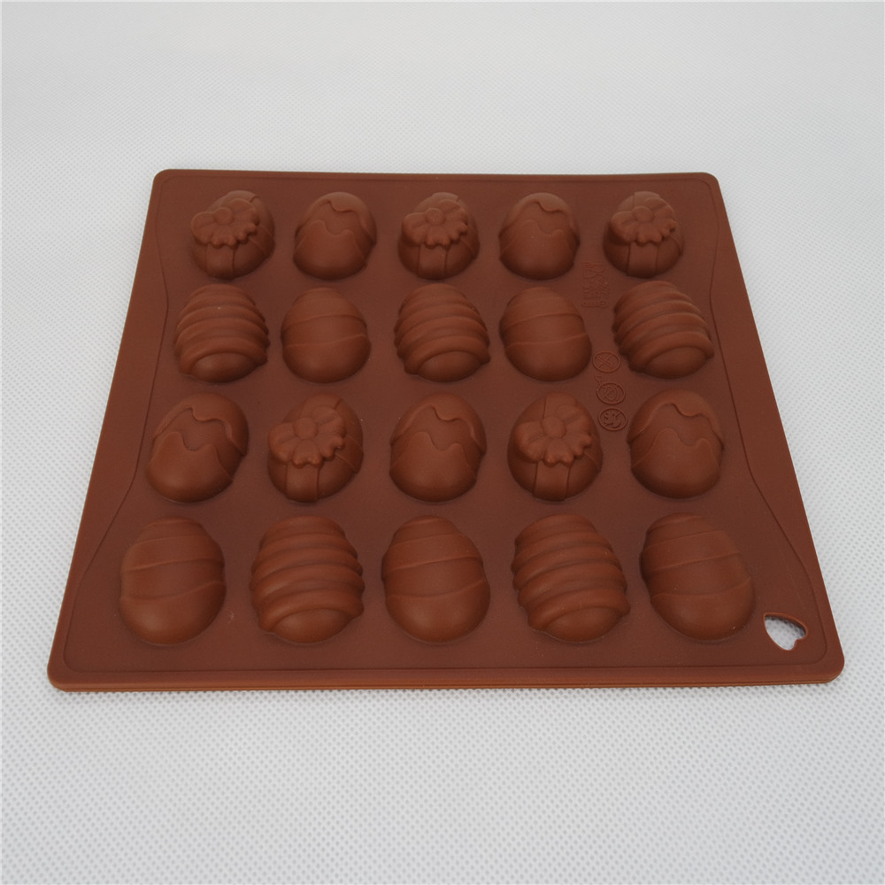 CXCH-011	Silicone Bakeware Chocolate Mould 20-Cup