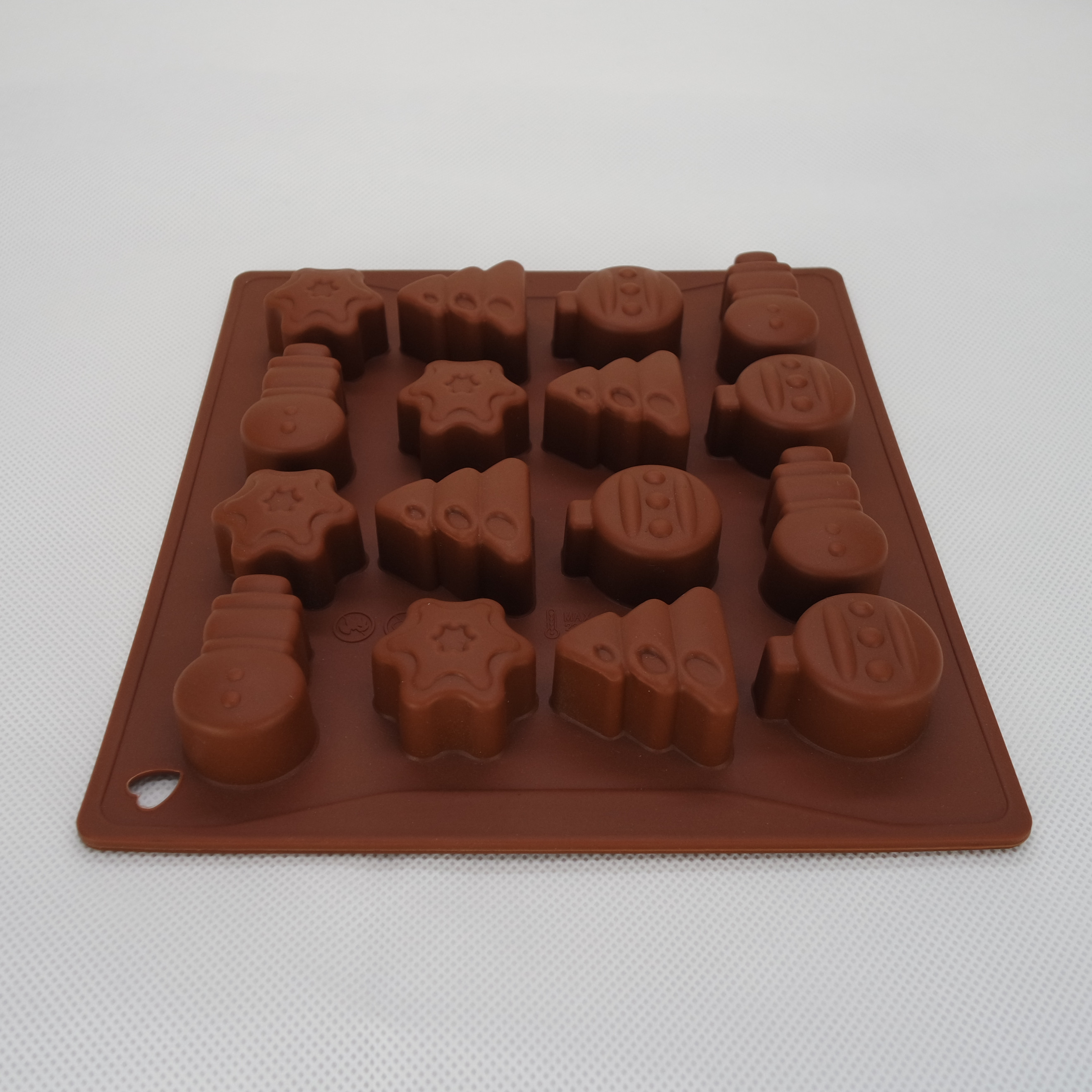 CXCH-016	Silicone Bakeware Chocolate Mould 16-Cup