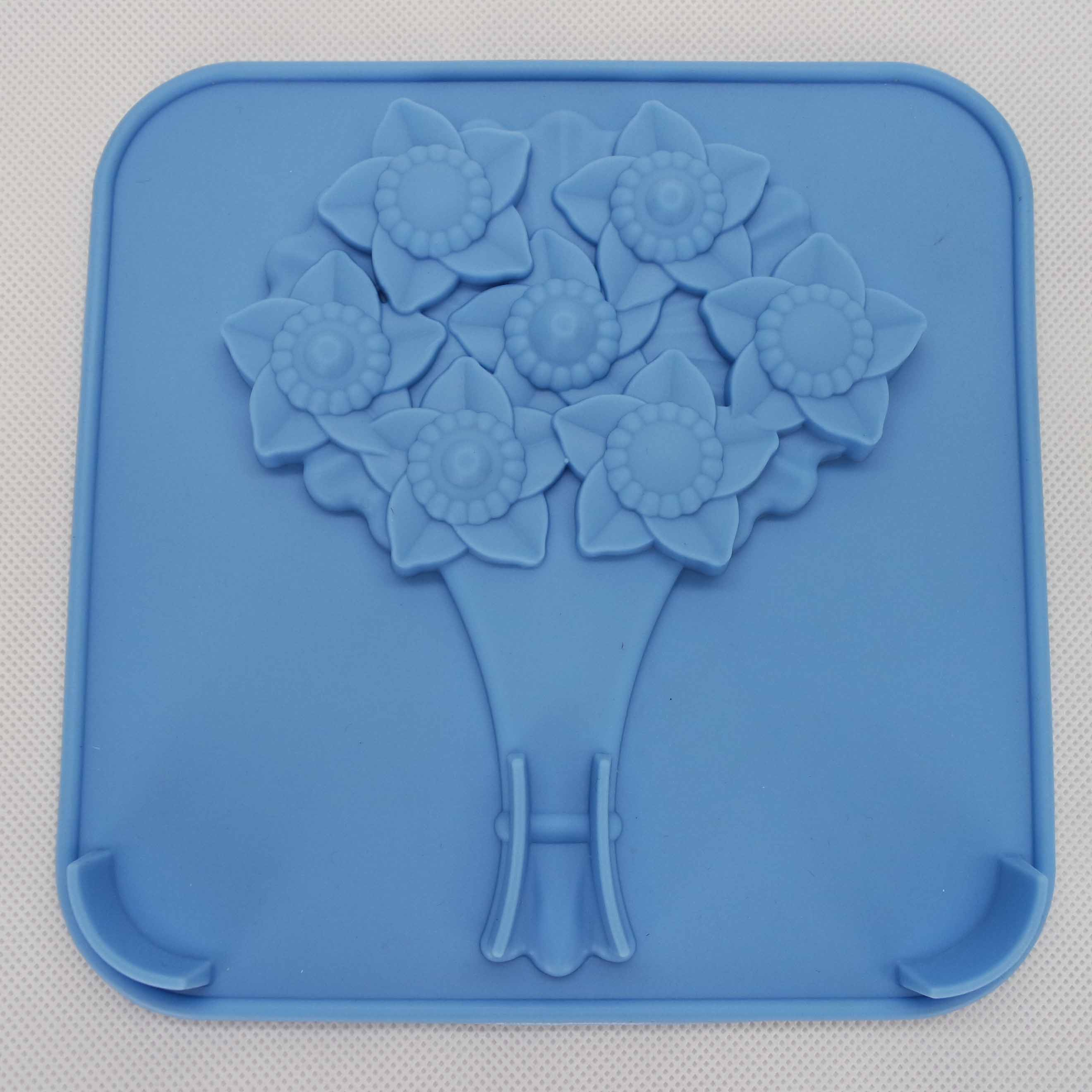 CXCH-029	Silicone chocoalte mould -Flower