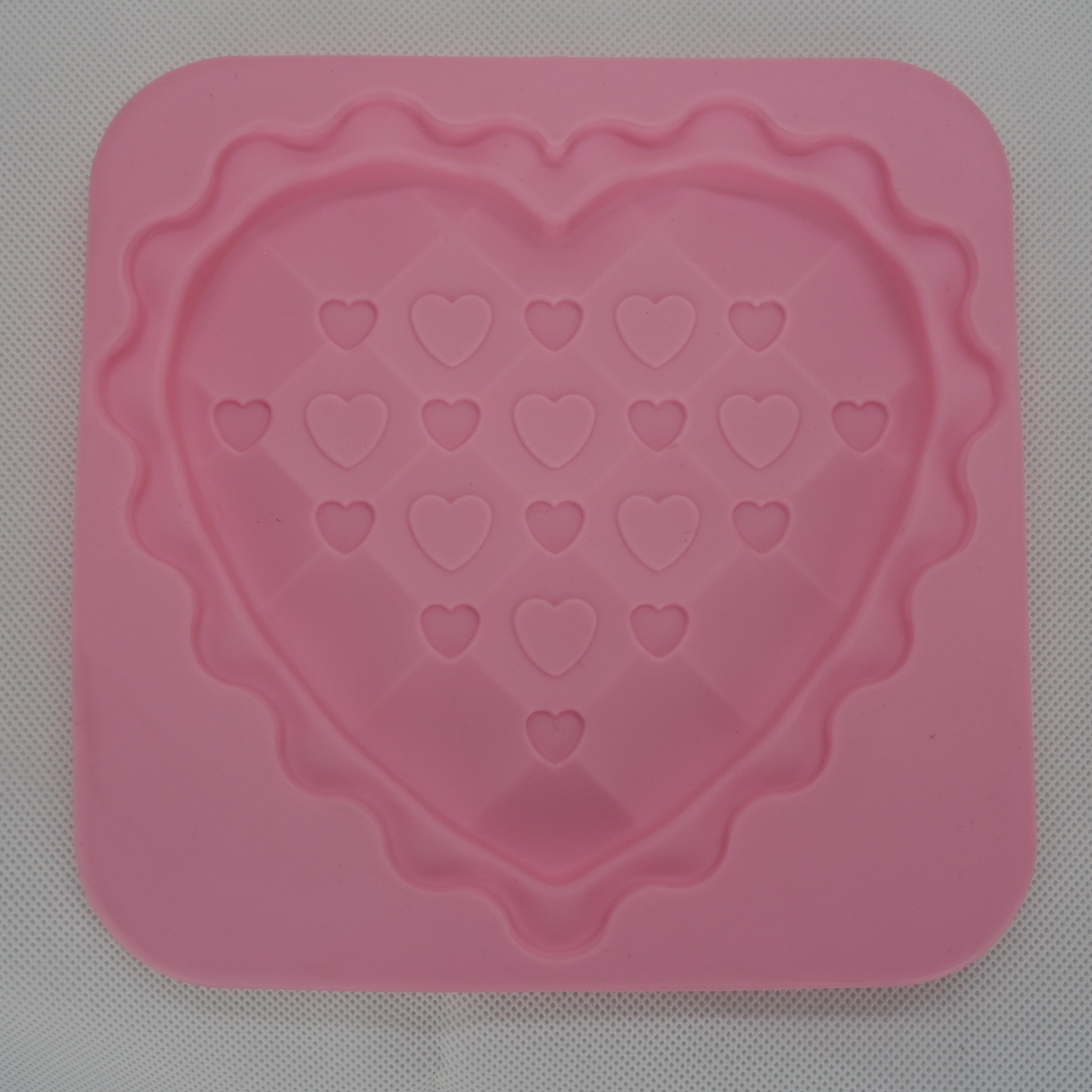 CXCH-030	Silicone chocoalte mould -Heart