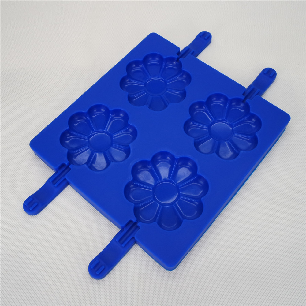 CXPM-001	Silicone Bakeware Chocolate Mould Lolli Pop Daisy Pop