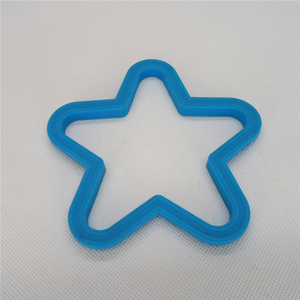 CXER-2209	Silicone Cookware Egg Ring Star Shape