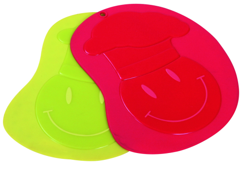 CXRD-1006 Silicone Trivet Smiling Face Pattern