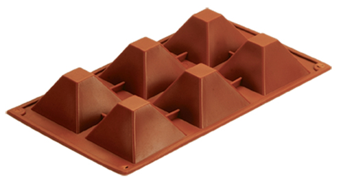 CXKP-7007	Silicone Bakeware Baking Pan & Pudding Mould 6-Cup
