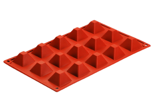CXKP-7008	Silicone Bakeware Baking Pan, Pudding Mould & Ice Tray 18-Cup